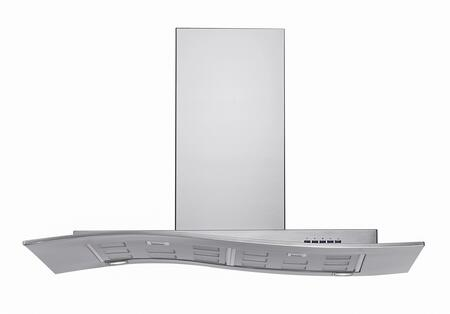 WL36MYSTICINOX 36 inch  Mystic Series Range Hood offer 940 CFM  4-Speed Electronic Controls  Delayed Shut-Off  Filter Cleaning Reminder  Internal Whisper-Quiet