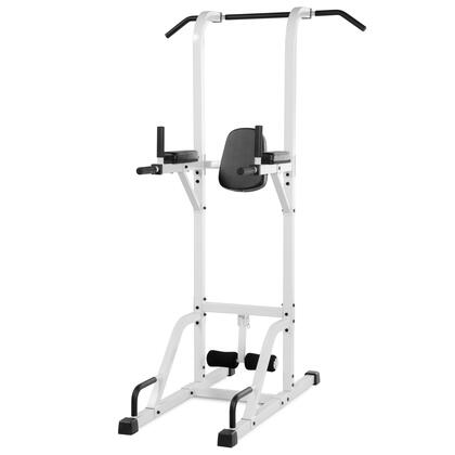 XM-4432-WHITE VKR Vertical Knee Raise with Dip and Pull-up Station Power