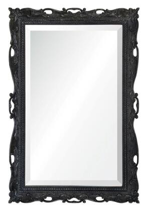 MT1613 24x36 Marquis Mirror with PU Frame in Distress Dark charcoal