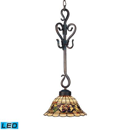 369-VA-LED Tiffany Buckingham 1-Light Pendant in Vintage