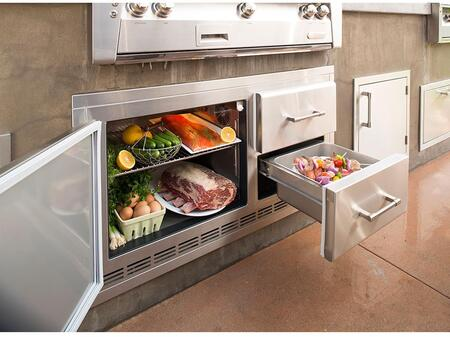 ARXE-42 Built In Under Grill Refrigerator in Stainless