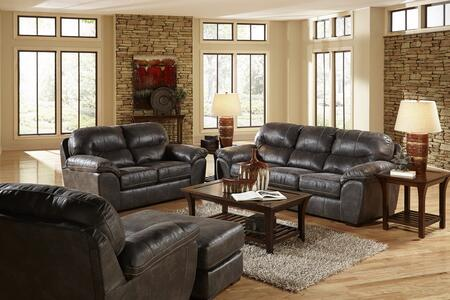 Grant Collection 44534PCSTLARMBNKIT1ST 4-Piece Living Room Sets with Stationary Sofa  Loveseat  Living Room Chair and Ottoman in