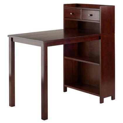 Tyler Collection 94742 40 inch  Table with Adjustable Center Shelf and 2 Drawers in