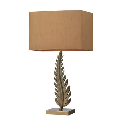 D2684 Oak Cliff Solid Brass Table Lamp in Aged