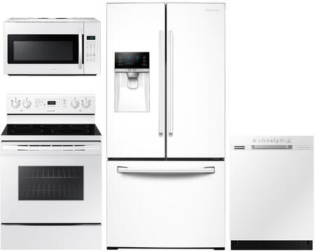 4 Piece Kitchen Appliance Package with RF26J7500WW 33