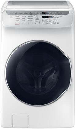Samsung WV55M9600AW 5.5 Cu. Ft. White FlexWash Steam Washer