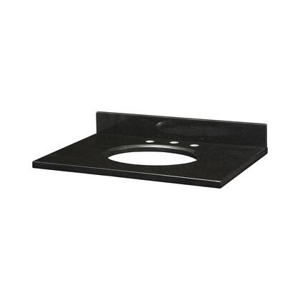 GRUT310BK_Stone_Top__31inch_for_Oval_Undermount_Sink__in_Black