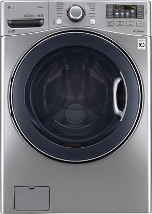 "WM3770HVA 27"""" Energy Star Qualified Front Load Washer with 4.5 cu. ft. Capacity  12 Wash Programs  TurboWash  Steam Technology  Allergiene Cycle  LoadSense"" 710233"