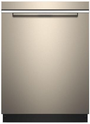 "Whirlpool 24"" Top Control Built-In Dishwasher with Stainless Steel Tub Sunset Bronze WDTA50SAHN"