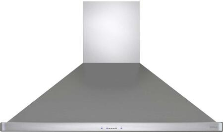 ZSL-E48BS 48 inch  Siena Pro Island Mount Range Hood with 1200 CFM Blower  Icon Touch Controls  Unique Quick Lock Installation System and Easy Installation in