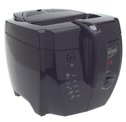 Presto CoolDaddy 05442 Abstruse Fryer - 2.01 quart Oil - Black