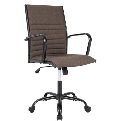 OFC-AC-MSTF BN Master Contemporary Fabric Office Chair in