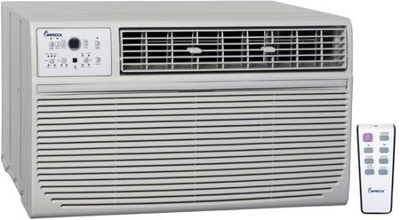 "ITAH-12KRB 25"" Through-the-Wall Air Conditioner with 12000 Cooling BTU 550 sq. ft. Cooling Area 10600 Heating BTU 4 Way Air Direction and 3 Cooling/Fan"