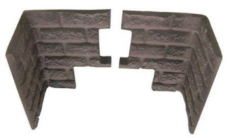SA20BK Decorative Brick Panel Kit for Breckwell Tahoe P2000 Pellet