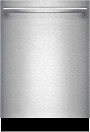 "Bosch Ascenta 24"" Tall Tub Built-In Dishwasher with Stainless-Steel Tub Stainless Steel SHX5AV55UC"