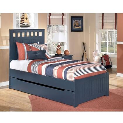B103-51/52/60/82/B100-11 Twin Size Panel Bed with Trundle: