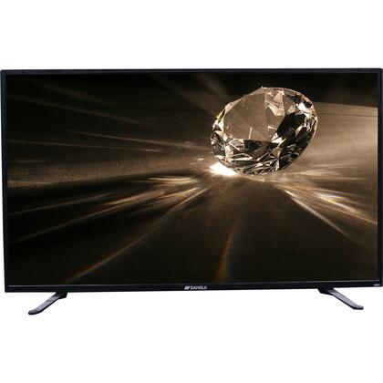 "Accu Sled5515 55"" Led-Lcd Series Tv with 1080p Display- 16:9 - 4k Uhdtv - Direct Led - in Piano thumbnail"