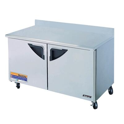 TWF60SD 16 cu. ft. Super Deluxe Series Worktop Freezer with Efficient Refrigeration System  High Density PU Insulation  Stainless Shelves and Incandescent