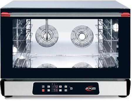 AX824RHD Full Size Digital Convection Oven with Humidity Inverter System  4 Shelves Full Size Pans  Up to 500 Degrees F  16 Hour Timer  in