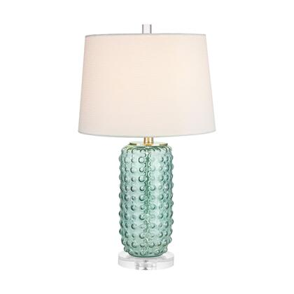 D2924 Caicos 1 Light Table Lamp in Green