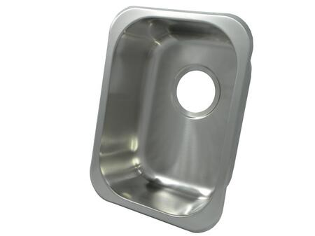 13202.046 Universal Mount 16 in. x 12 in. Single Bowl Kitchen