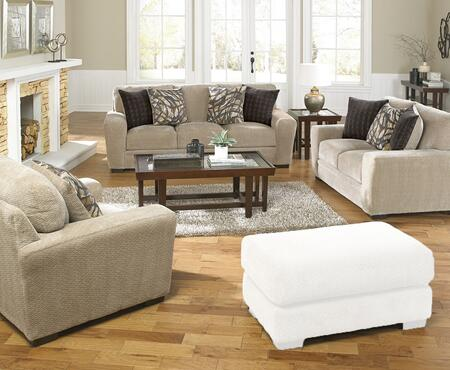 Prescott Collection 44873PCSTLARMKIT1P 3-Piece Living Room Sets with Stationary Sofa  Loveseat and Living Room Chair in