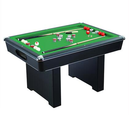 NG2404PG Renegade Slate Bumper Pool Table with Fast Action Rubber Bumpers and Internal Carpeted Ball Return
