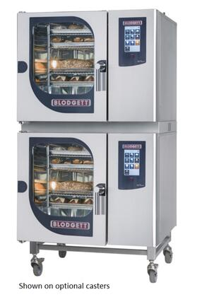 BLCT6161G Double Stack Gas Boilerless Combination-Oven/Steamer with Touchscreen Control  Multiple modes  Self cleaning system. Capacity: 10 North American