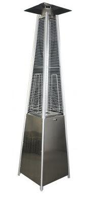 HCPHSSQ Square Pyramid Patio Heater in Stainless