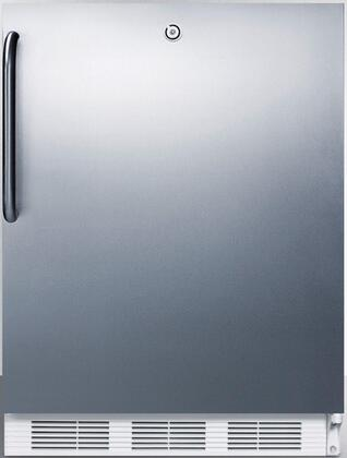 FF6L7SSTBADA 24 inch  FF6ADA Series Energy Star  ADA Compliant  Medical  Commercial Compact Refrigerator with 5.5 cu. ft. Capacity  Automatic Defrost  Door Lock