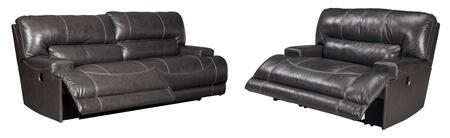 McCaskill Collection U60900-47-82 2-Piece Living Room Sets with Motion Sofa  and Recliners in