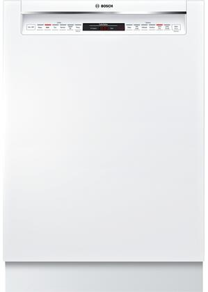Bosch SHE878WD2N 800 Series 24 Built In Full Console Dishwasher with 6 Wash Cycles, in White