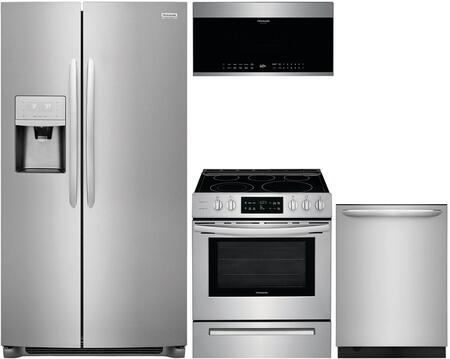 4-Piece Stainless Steel Kitchen Package with FGSC2335TF 36
