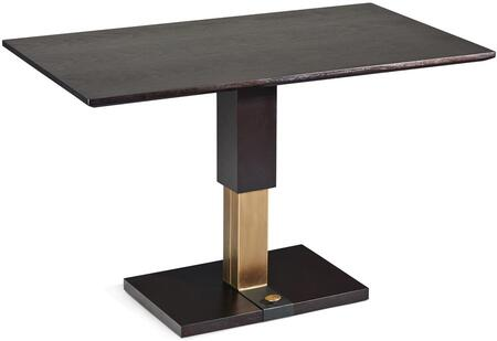 9137-CT Cocktail Table with Matt Walnut-Veneer Wooden Table Top and Adjustable Height