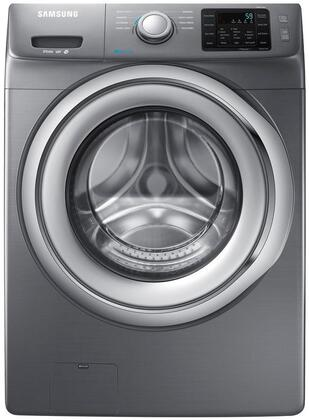 "WF42H5200AP 27"" Wide 4.2 cu. ft. Energy Star Rated Front Load Washer with 1200 RPM"