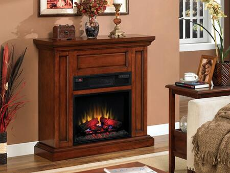 23IW1254-C253 Oxford Infrared Electric Fireplace With Energy Savings LED Technology Warms Up To 1 000 Square Feet 3 Infrared Quartz Tubes For Heat Top