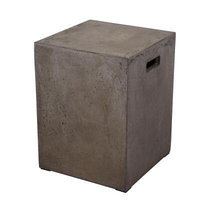 157-004 Cubo Square Handled Concrete