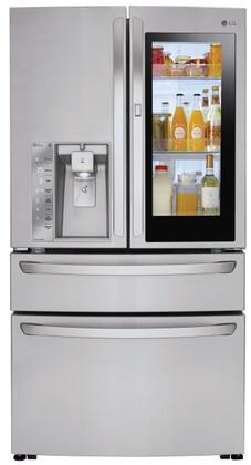 LG LMXC23796S 23 cu. ft. Stainless Steel French Door Refrigerator LMXC23796S