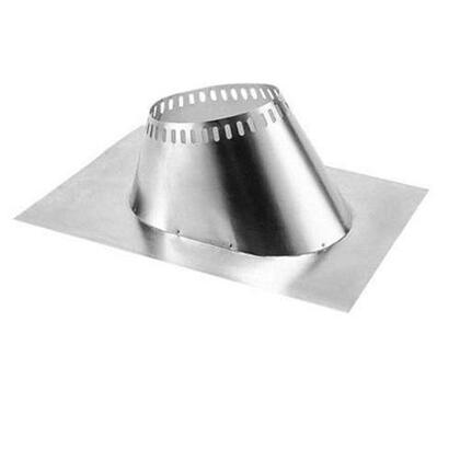"Majestic RF370M 0"" - 6/12"" Pitch Roof Flashing"