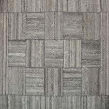 Rpat-02-7998 79x98 Light Beige Wool Rug  Stripe