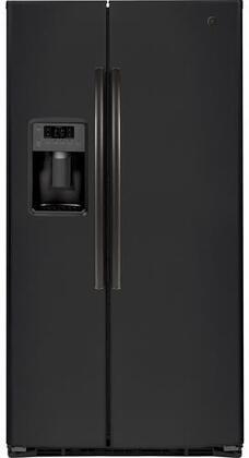 GE GSE25HEMDS Black Slate 25.3 Cu. Ft. Side By Side Refrigerator
