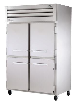 STG2R-4HS Spec Series Two-Section Reach-In Refrigerator with 56 Cu. Ft. Capacity  LED Lighting and Solid Half