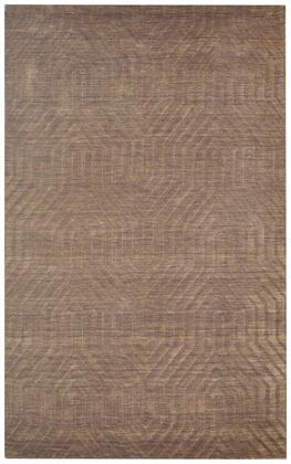 Tectc857900120203 Technique Tc8579-2 X 3 Hand-loomed 100% Wool Rug In Brown  Rectangle
