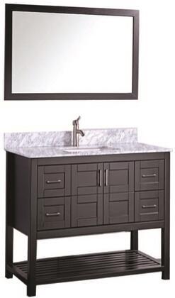 -2148E Norway 48 Single Sink Bathroom Vanity Set