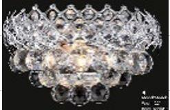 Firework Collection 99005WC 12 inch  Wide Wall Light in Chrome