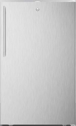 CM411L7SSHVADA 20 inch  Commercially Approved ADA Compact Refrigerator with 4.1 cu. ft. Capacity  Factory Installed Lock  Hospital Grade Cord  in Stainless