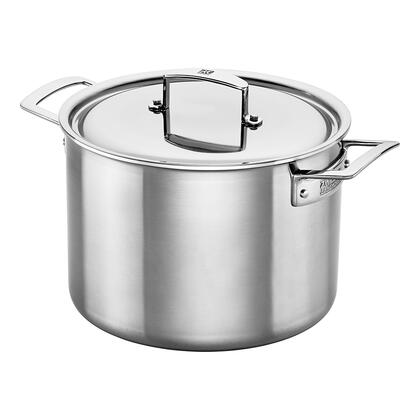 ZWILLING J.A. Henckels Aurora 66083-240 Stock Pot, 8-quart Stainless Steel
