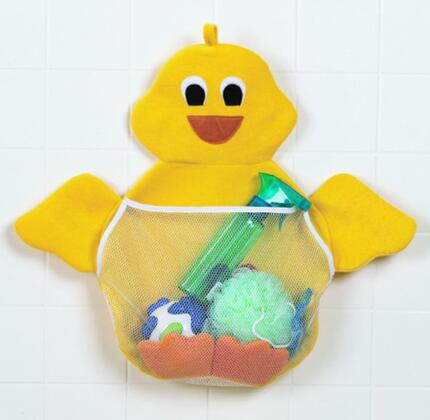 315 Ducky Toy Bag with Machine Washable Polyester Fabric Construction and Suction