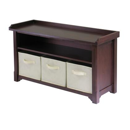 94801 Verona Storage Bench with 3 Foldable