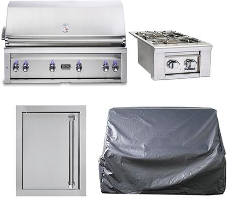 4-Stainless Steel Outdoor Kitchen Package with VQGI5540LSS 54
